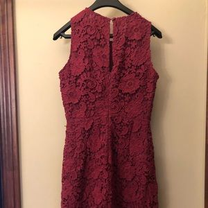Jcrew lace knee length dress